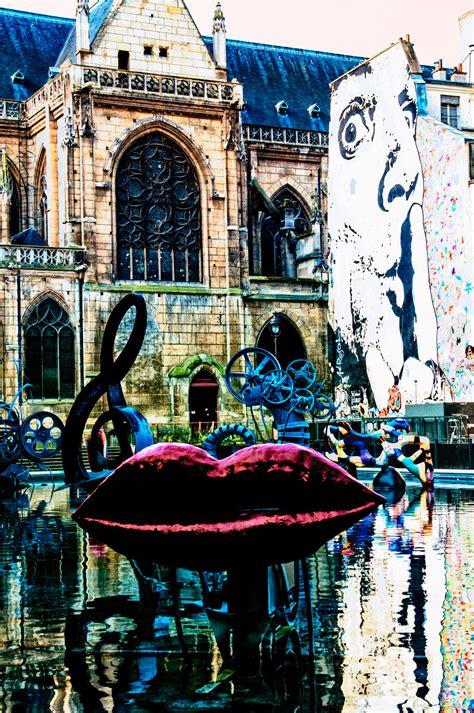 A Parigi by Place Igor Stravinsky Centre Pompidou A Parigi