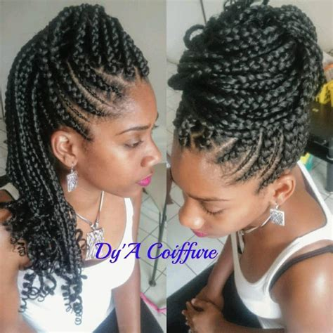 likes  comments dya coiffure atdyacoiffure  instagram tresses braids ghan