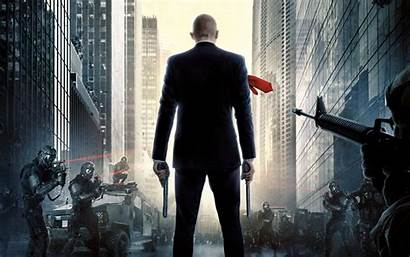 Hitman Agent 47 Wallpapers 4k Background Movies