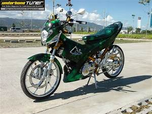 Underbone Tuner  Gamma Powered Suzuki Raider 150 From