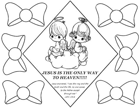 Precious Moments Bible Coloring Pages Printable