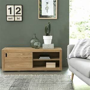 Meuble TV en teck naturel Vente meuble pour tele Adam Tikamoon