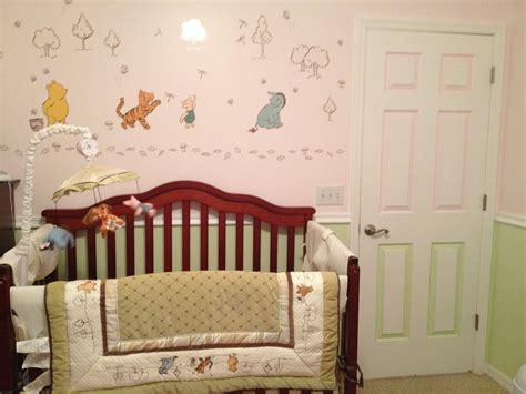 vintage winnie the pooh nursery decor classic winnie the pooh nursery set neutral made for