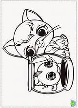 Coloring Pet Littlest Colorear Desenhos Colorir Dinokids Shops Lets Coloriage Dibujos Close Entretenimiento Azcoloring Guardado Desde sketch template