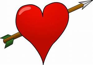 Heart-arrow Clip Art at Clker.com - vector clip art online ...