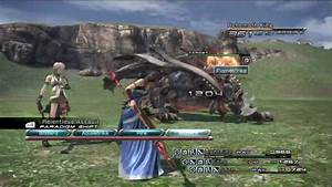 Final Fantasy XIII - Behemoth King (HP:487620) - (Gran ...