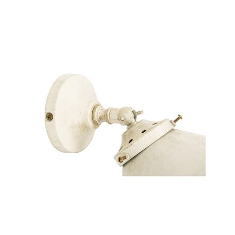 Applique Da Muro by Applique Da Muro 1 Luce Ottone Bianco Shabby Vintage