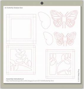 Envelope Size Ashbee Design Silhouette Projects 3d Butterfly Shadow Box