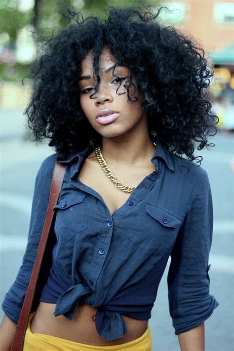 black girl curly hair hairstyle  women man