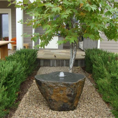 pictures of water fountains in gardens 25 best ideas about stone water features on pinterest
