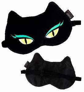 Masque De Nuit : masque de nuit cache yeux pour avion voyage cat my ~ Melissatoandfro.com Idées de Décoration