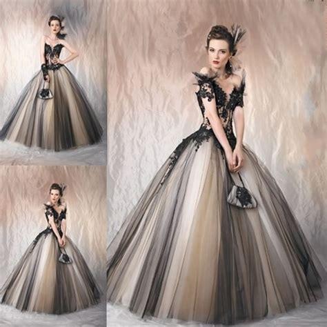 Vintage Ball Gown Bride Wedding Dress Bridal Gowns Elegant