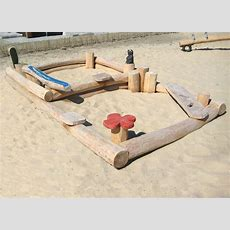 Großer Sandkasten Aus Holz Für Kindergarten Ziegler