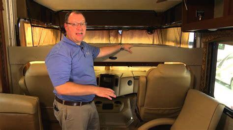 thor motor coach front drop  overhead bunk