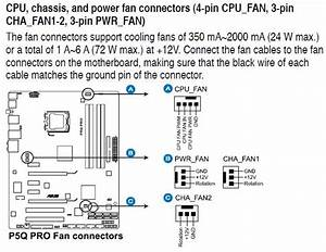 H50  Connecting 2 Fans To The Motherboard