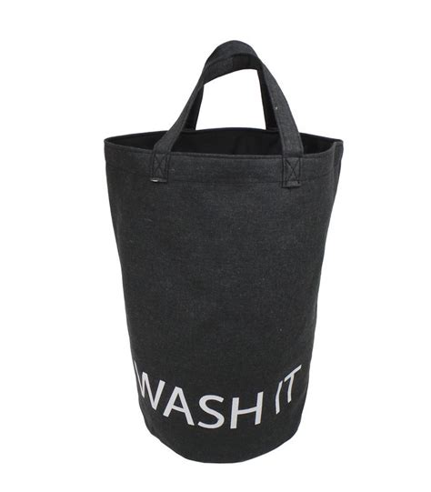 panier 224 linge en tissu beige wash it opportunity wadiga