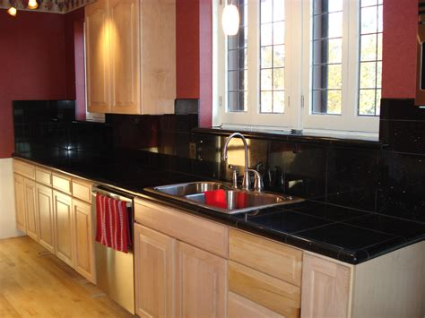 Kitchens with Black Granite Countertops