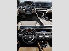 Photo Comparison BMW 5 Series vs 2013 Lexus GS 350
