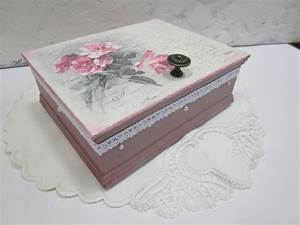 Decoupage tutorial - DIY How to decoupage a box with