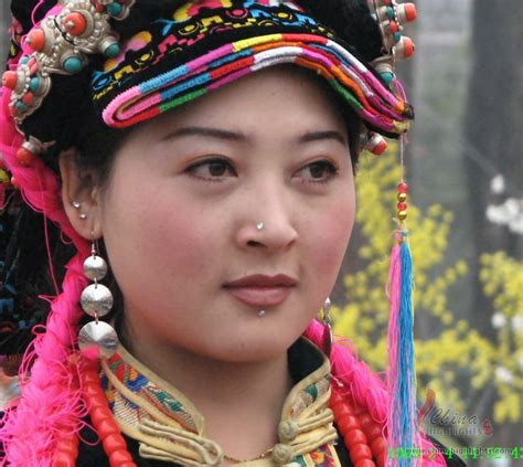 chinese qiang ethnic minority qiang people  china