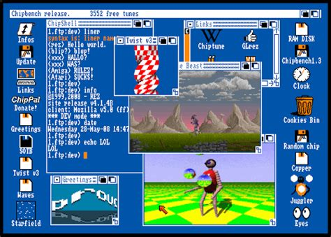 amiga workbench emulator  christophe resigne