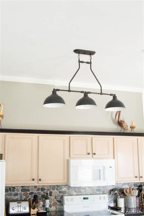 the new farmhouse pendant lights t h kitchen makeover