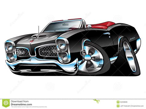 muscle car cartoon drawings graphic requests uscutter