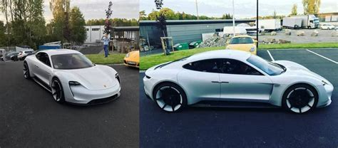 porsche electric mission e close look at porsche s latest all electric mission e