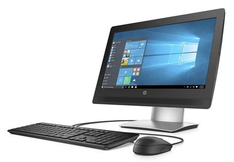 ordinateur de bureau tactile pc hp proone 400 g2 ecran tactile 20 pouces