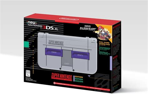 New SNES Classic Style Nintendo 3DS Releasing in November ...