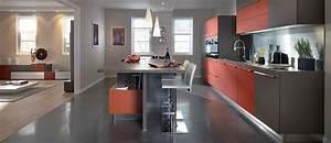 Cuisine Ouverte Sur Salon : delimiter cuisine ouverte cuisine en image ~ Dallasstarsshop.com Idées de Décoration