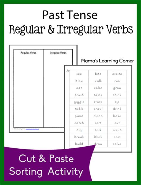 2nd grade 187 irregular past tense verbs worksheets 2nd