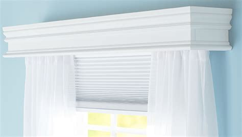 cornice curtain rod holder