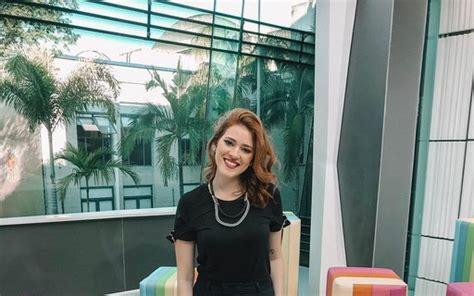 Ana Clara celebra estreia como repórter do Vídeo Show ...