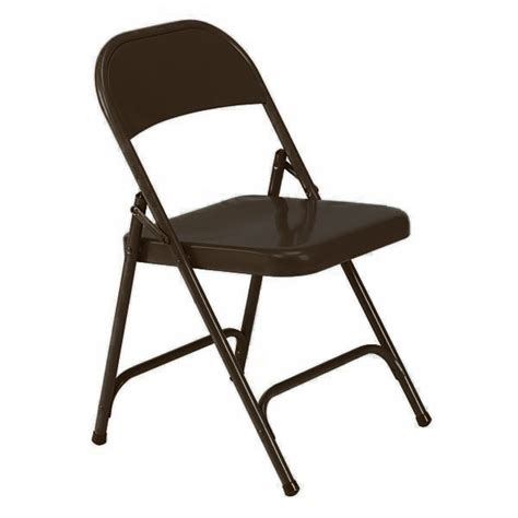 virco folding chair mocha brown 162 folding chairs