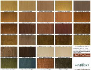 Oak Wood Stain Color Chart Stained Maple Cabinets Images Coatings In Kitchens And