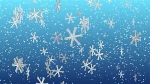 Animated Snowflakes Festive Seasonal Background Stock ...