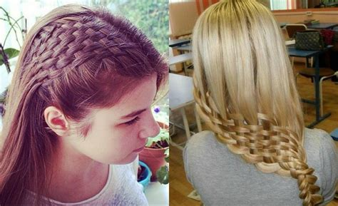 awesome basket weave braids hairstyles hairdromecom