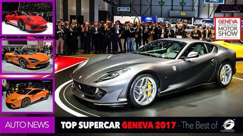 Top Supercar Geneva Motor Show 2017