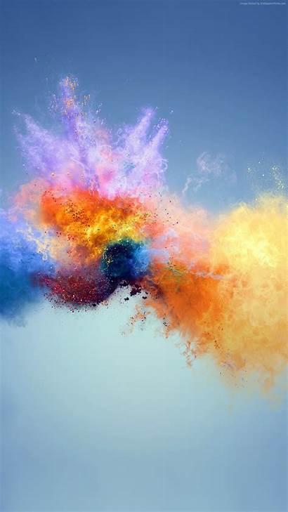 Phone Wallpapers 4k Splash Colors Huawei Mobile