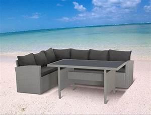 Lounge Möbel Garten : milos polyrattan ecklounge gartenm bel sitzgruppe grau ~ Pilothousefishingboats.com Haus und Dekorationen