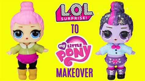 Diy Custom Cozy Babe To Twilight Sparkle Lol Surprise Doll