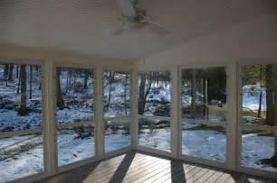Glass Enclosed Deck by Screen Porch Vs Enclosed Porch Or Sunroom Custom Decks