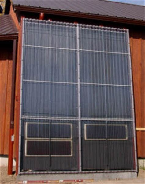 Solar Heating Drapes - solar water heating using a unique master and