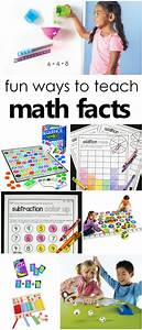 Fun Ways to Learn Addition and Subtraction Math Facts ...