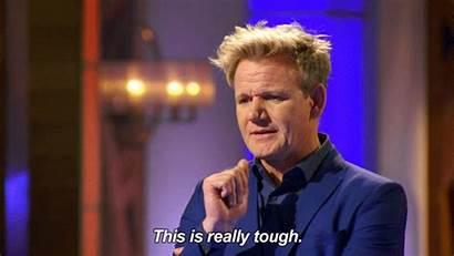 Tough Choice Chef Masterchef Decision Ramsay Gordon