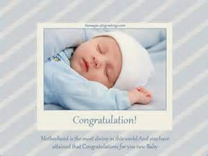 New Born Baby Wishes Messages