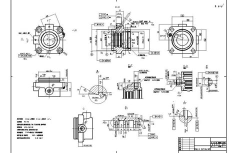 create  model   drawing  mechanical parts