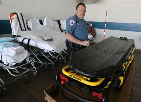 heavy lifting medical  responders pay price