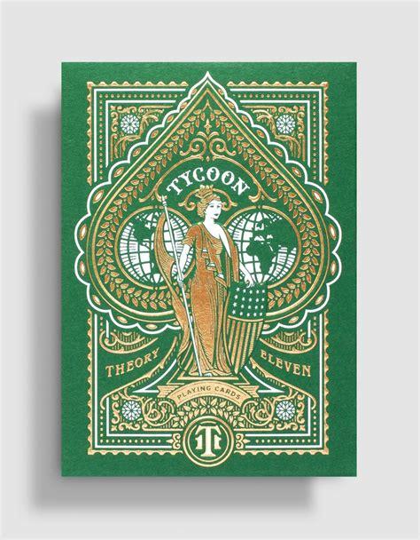 Kārtis T11 Tycoon Green